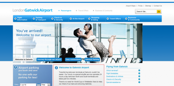 10 High Flying Airport Websites