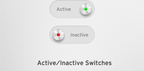 [Freebie] Active/Inactive Switch