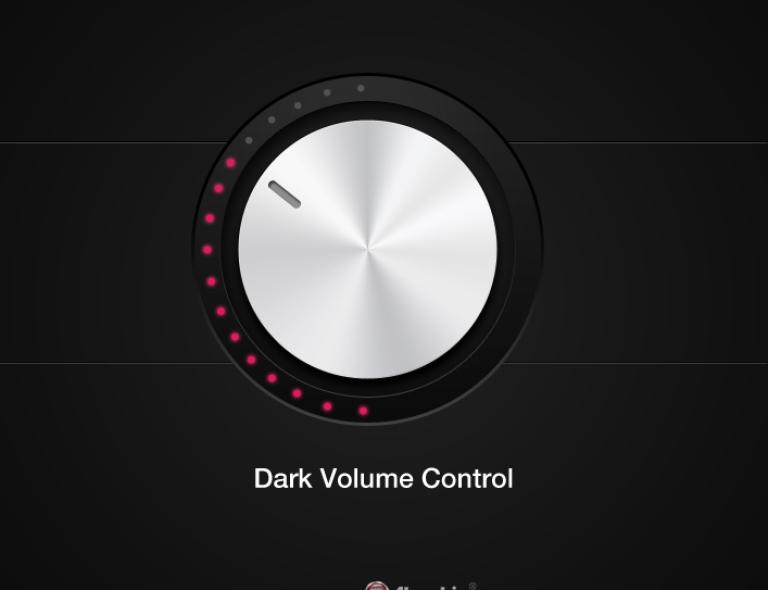 [Freebie] Dark Volume Control