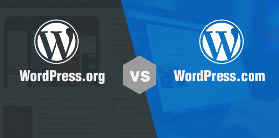 Differenza tra creare un sito su WordPress .com VS .org