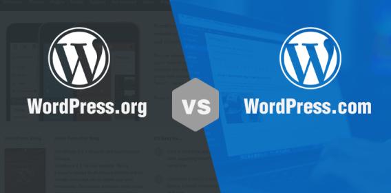 Differenza tra creare un sito su WordPress .com VS .org