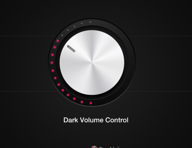 [Freebie] Dark Volume Control