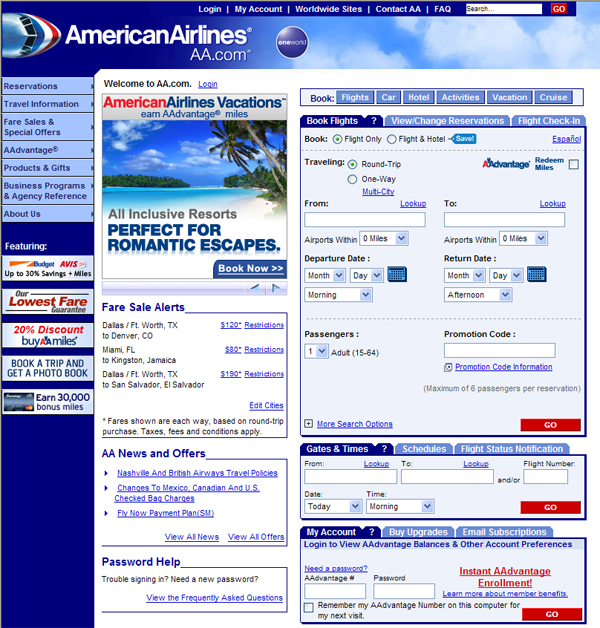 , 10 Airline Disasters on the Web, Shambix