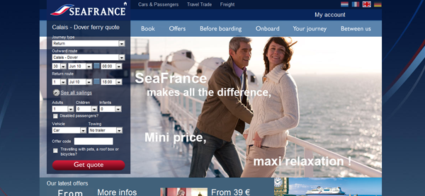 , 13 Stunning Ferry Websites To Send You Overboard, Shambix