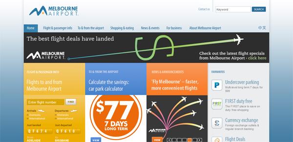 , 10 High Flying Airport Websites, Shambix