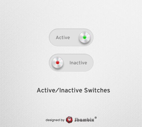 , [Freebie] Active/Inactive Switch, Shambix