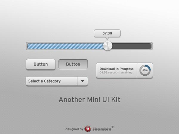 , [Freebie] Another Mini UI Kit, Shambix