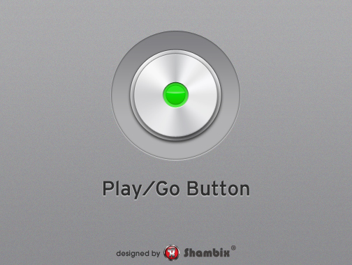 , [Freebie] Play/Go Button, Shambix