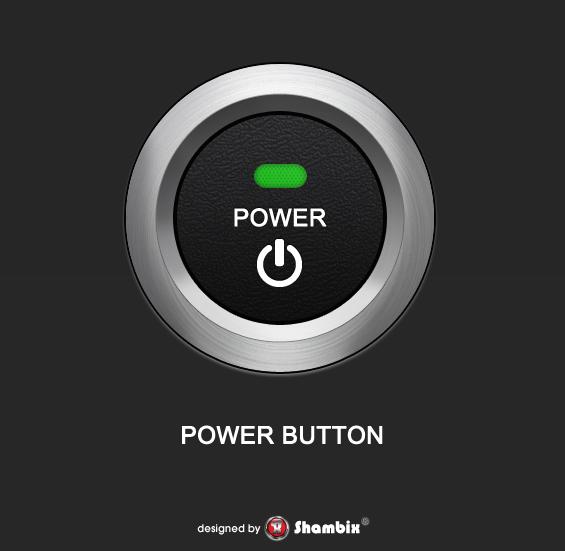 , [Freebie] Power Button, Shambix