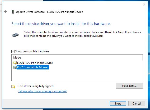 gestures, Elan mousepad gestures not working on Windows 10, Shambix